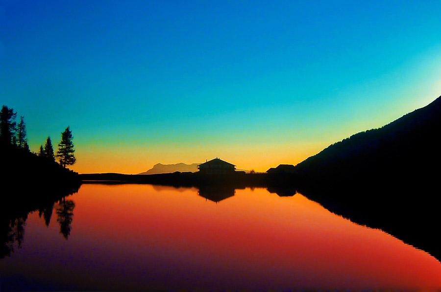 Il piccolo lago di Calaita, sicuramente nella top 10 dei laghi del trentino!