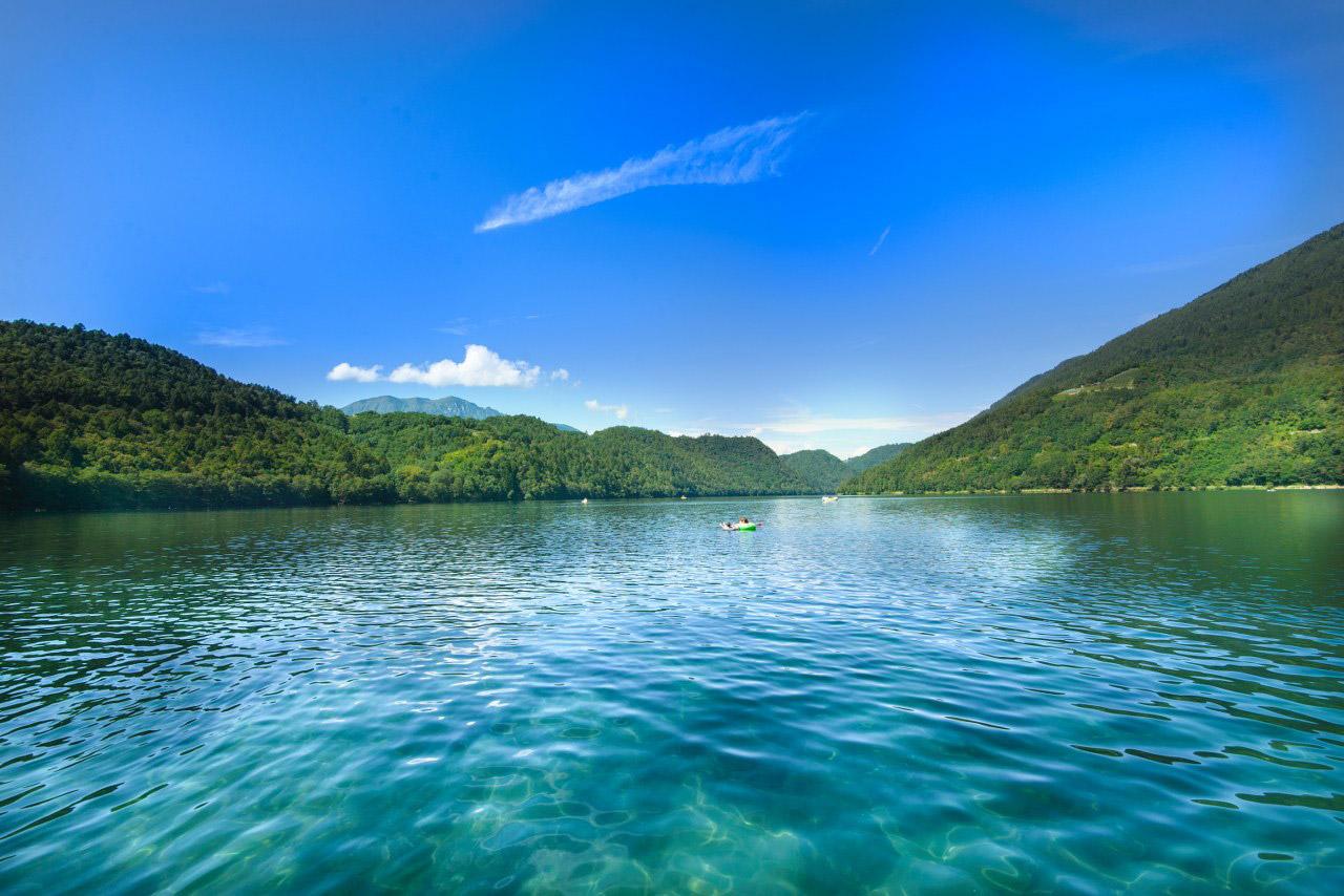 Laghi di Caldonazzo, uno tra i più frequentati laghi del trentino